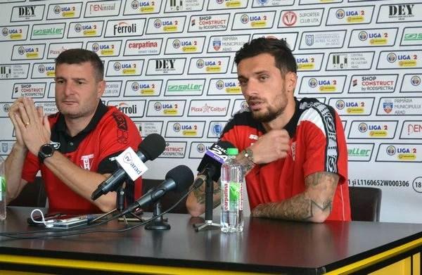 """Se urgentează recuperarea lui Stancu sau rămâne Melinte în bandă cu Poli? Balint: """"Sper să fiu inspirat în găsirea celui mai bun prim 11"""""""