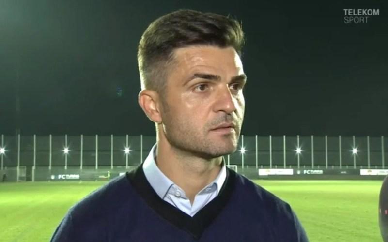 """Bratu: """"Speram la mai mult după eliminare, însă mă bucur că nu am pierdut contra unei echipe ce vrea promovarea"""""""