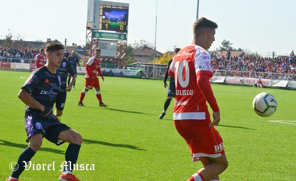 Live-text Liga a II-a, ora 11: UTA – ASU Poli  1-0, final