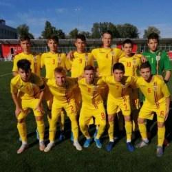 """Arădeanul Melniciuc, printre marcatorii """"tricolorilor"""" U15 în victoria din Republica Moldova"""