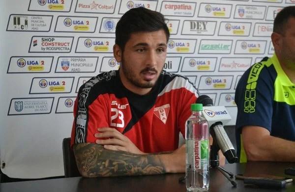 """Stancu și-a dat examenul revenirii pe gazon în derby-ul Vestului, iar acum o ia în """"colimator"""" pe Reșița: """"Să fim concentrați, punctele sunt necesare!"""""""