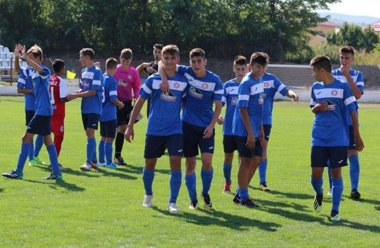 Viitorul a încheiat convingător socotelile cu turul Ligii Elitelor U16!