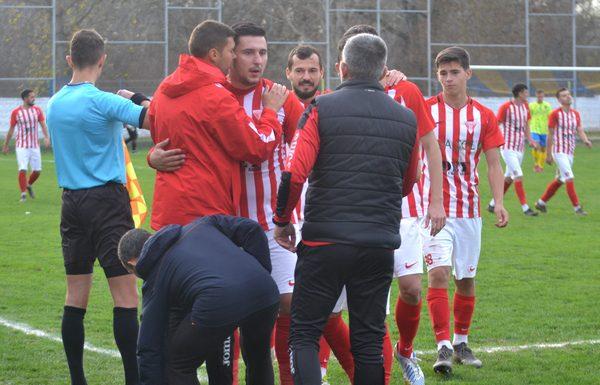 """""""Sămădăii"""" au răpus liderul Ligii a IV-a Oradea la revenirea de la Moneasa, Burlă a marcat de la 40 de metri!"""