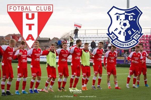Live-text Liga a II-a, ora 11,30: UTA – Farul Constanța 1-0, final