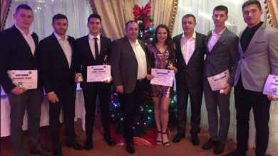 Photo of Cinci premianți la Revelionul arbitrilor și observatorilor