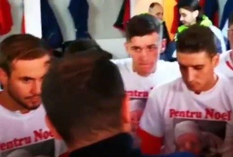 """VIDEO: Ultimele cuvinte ale lui Balint înainte de a-și trimite băieții la luptă cu Petrolul: """"Arătați că nu degeaba suntem cei mai buni!"""""""