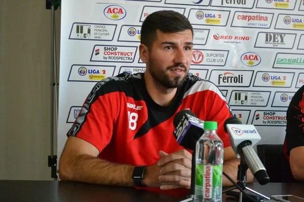 """Ilie promite marcaj strâns la Arnăutu: """"Sunt încrezător că vom face o partidă bună în fața propriilor suporteri și ne vom bucura la final împreună cu ei"""""""