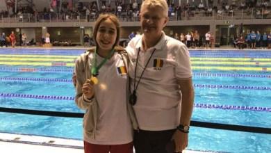 Photo of Înotătoarea Andreea Popescu a încheiat anul cu trei medalii peste Graniță