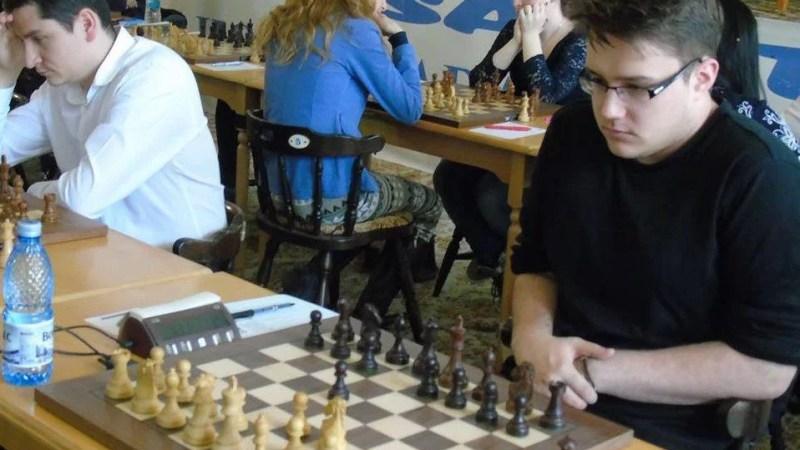 Alexandru David e campion național la șah blitz și medaliat cu argint șah rapid