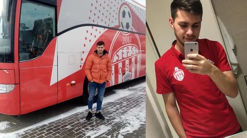 Salt de două eșaloane pentru juniorul Sebișului, Claudiu Vereș: Azi a și debutat pentru Sepsi OSK într-un amical disputat în Antalya!