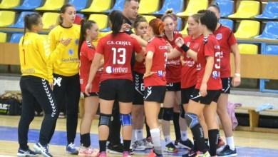 """Photo of Handbalistele Crișului încearcă să se ridice la nivelul băimărencelor de la Minaur: """"Să contribuim la spectacolul de pe parchet!"""""""