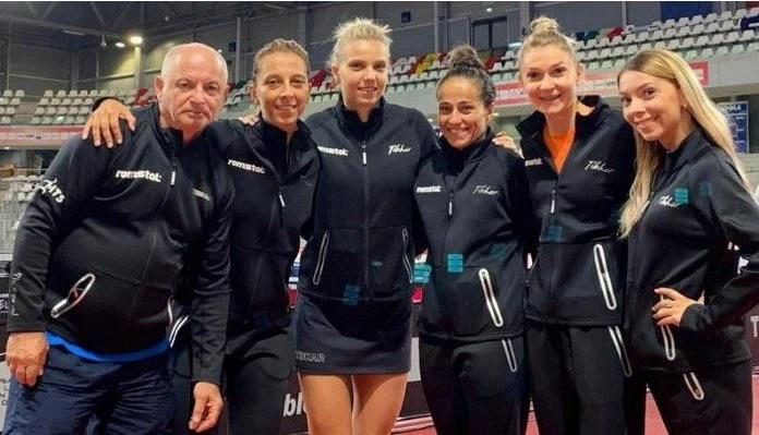 """Arădeanca Dana Dodean-Monteiro și colegele sale de sub """"tricolor"""" sunt la o victorie de Jocurile Olimpice de la Tokyo"""
