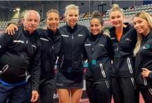 """Photo of Arădeanca Dana Dodean-Monteiro și colegele sale de sub """"tricolor"""" sunt la o victorie de Jocurile Olimpice de la Tokyo"""