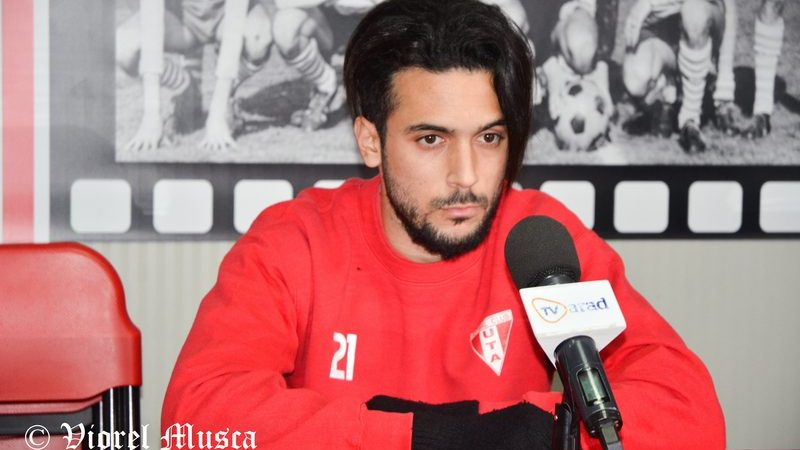 """Jebari are gânduri mari la Arad: """"UTA merită să fie prima, dar mai trebuie să demonstrăm asta și în meciurile rămase"""""""