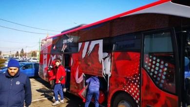 """Photo of UTA a demarat """"operațiunea"""" Ciuc în 20 de jucători, la bordul unui autocar personalizat: """"Sperăm să fie cu noroc, orice debut e dificil!"""""""