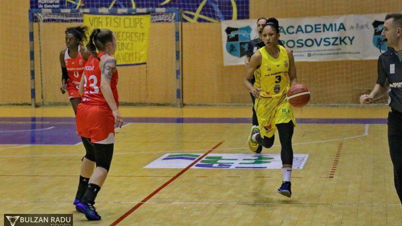 Îndreptățite să spere la finala națională: FCC Baschet Arad – CSM Satu Mare83-65