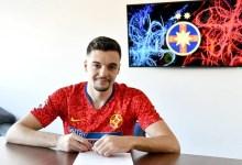 """Photo of Petre a devenit oficial atacantul lui FCSB: """"Sunt la vârsta și maturitatea necesare să înțeleg importanța acestei noi etape din cariera mea"""""""