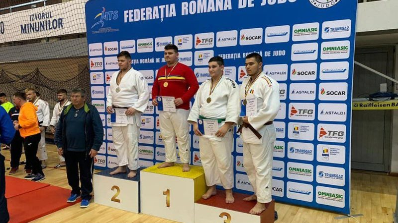 Judoka David Nagy e noul campion național de tineret