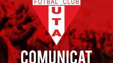 Photo of Clubul UTA își rezervă dreptul de ataca decizia FRF (play-off cu înjumătățirea punctelor) la forurile competente și face apel la autoritățile locale pentru sprijin financiar!