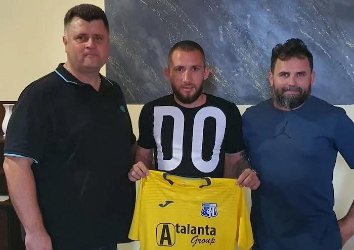 """Constănțeanul Alexandru Moise întărește atacul Lipovei: """"Îmi doresc să promovăm în Liga 2-a!"""""""