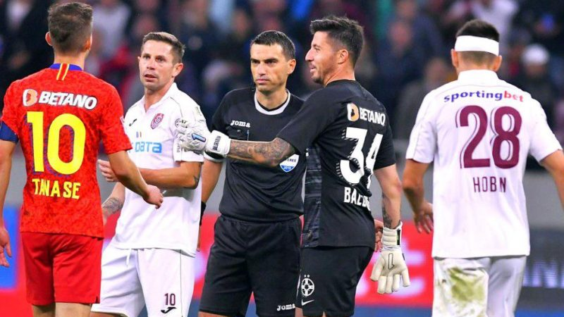 """Hațegan fluieră meciul de titlu, CFR – FCSB! Becali a reacționat pozitiv: """"Am mare încredere că a arbitrat în Liga Campionilor…"""""""