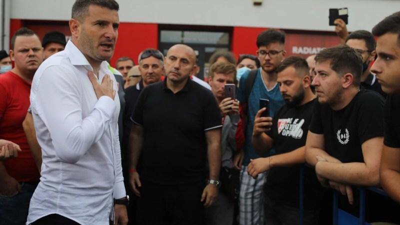 """Balint și-a pus sentimentele pe tavă: """"Eu sunt din Brașov, dar UTA mă face să mă simt arădean"""" și cere mai mult respect pentru """"emblema orașului"""""""