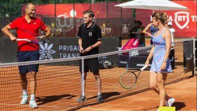 Photo of Copil – învins de Halep la Cluj! Fosta campioană de la  Roland Garros si Wimbledon a făcut pereche cu Tecău, arădeanul a jucat cu Ruse