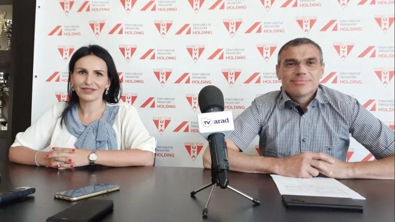 """Brandurile """"roș-albe"""" își intersectează drumurile: International Alexander a devenit noul partener al clubului UTA!"""