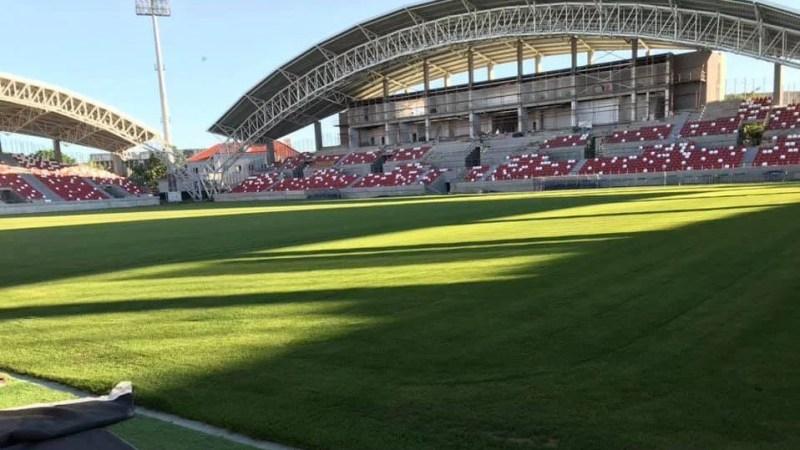 """Stadionul """"Francisc Neuman"""" ar trebui finalizat până la finalul acestei luni, probele, retușurile și recepția ar trebui făcute până la debutul UTA-ei în noul sezon"""
