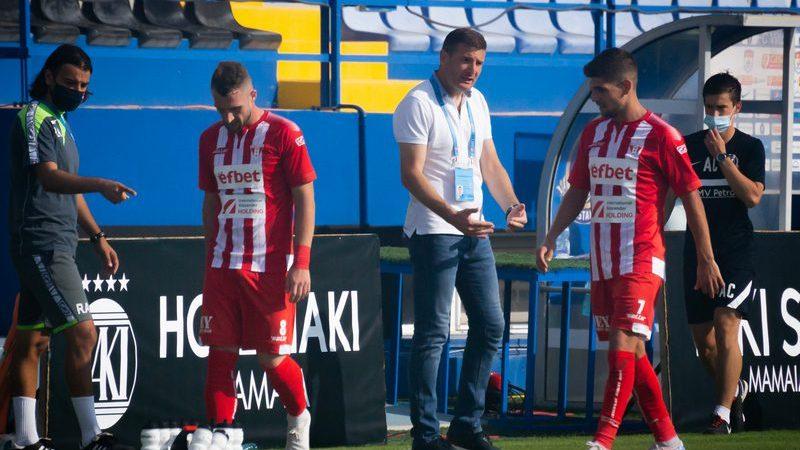 """Balint, debut cu dreptul în Liga 1: """"Pe final am sperat și la cele trei puncte, dar, după aspectul jocului, poate nu le-am fi meritat"""""""