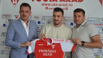 """Photo of Liga 1 și Hora revin după 12 ani la Arad: """"La UTA mi-este o parte din suflet, aici am debutat și doresc să ofer înapoi ceea ce mi s-a oferit"""""""