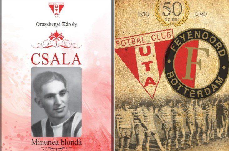 """Întâlnire pentru """"Csala"""", fotbalistul-simbol al UTA-ei și pentru marele meci al fotbalului arădean"""