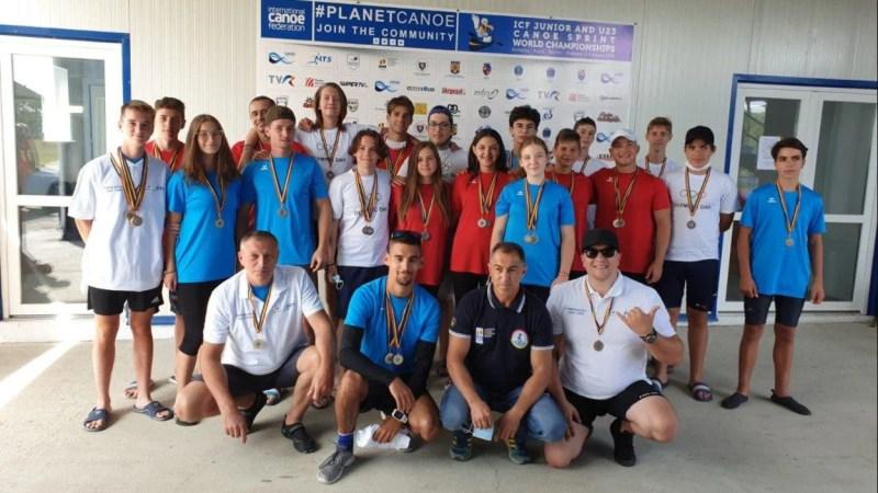 Kaiaciştii CSM-ului au vâslit pentru medalii naționale la bărci dragon şi viteză master