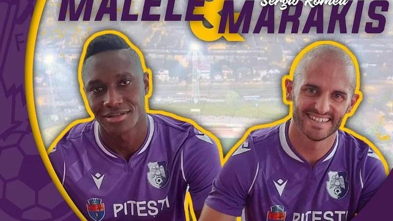 FC Argeș a transferat doi fotbaliști străini înainte de meciul cu UTA
