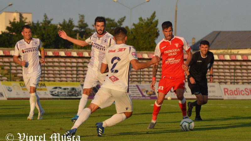 Nou-promovatele FC Argeș și UTA deschid runda cu numărul trei a Ligii 1!