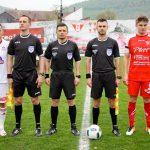 Amintiri plăcute pentru utiști de la singurul meci de acasă arbitrat de bucureșteanul Dima