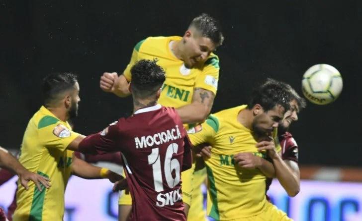 Restanțe în Liga a II-a: Rapid se face de râs și cu CS Mioveni, la debutul lui Pelici pe banca argeșenilor!