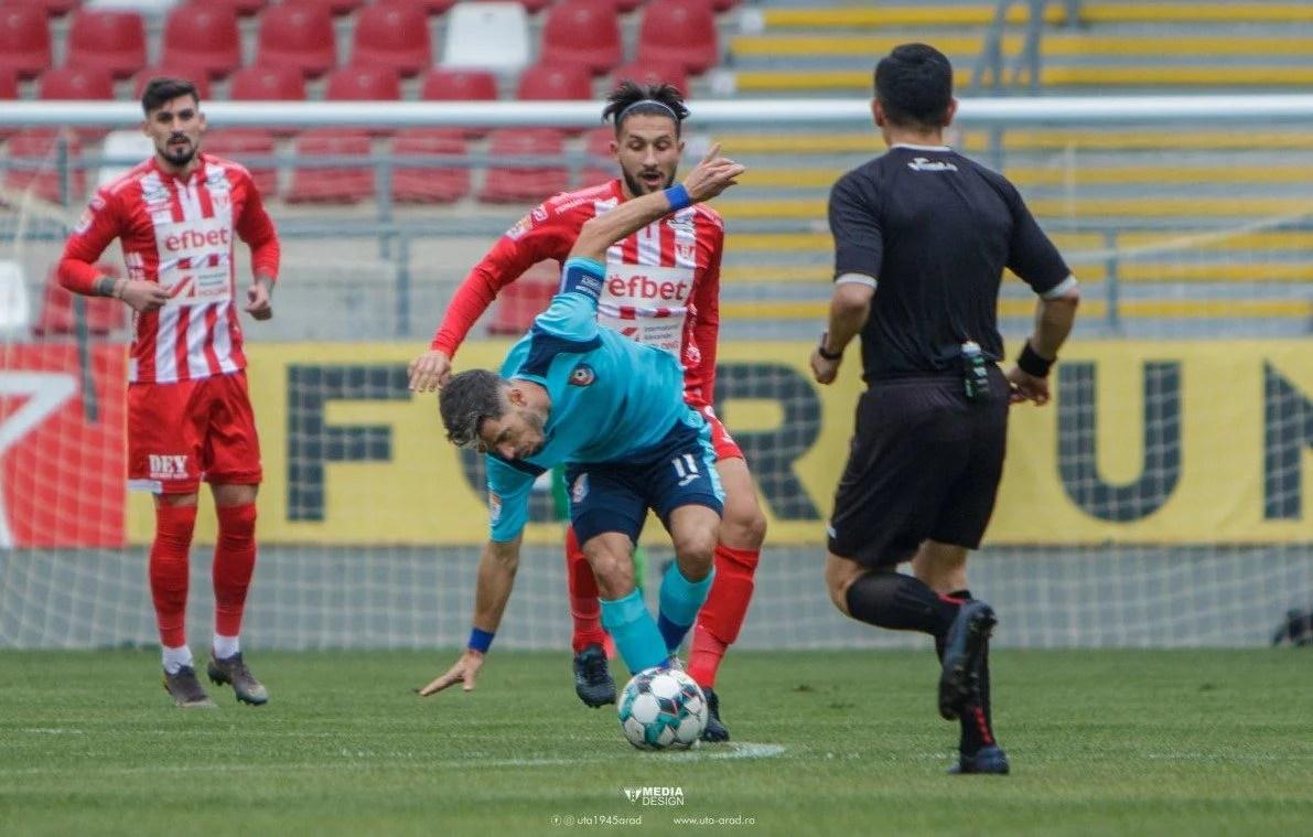 """Neluț Roșu trage concluziile succesului din Moldova: """"UTA e o echipă mare, chiar dacă are cei mai mulți debutanți pe prima scenă. Le dedicăm victoria fanilor!"""""""