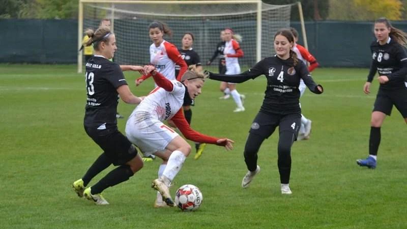 """""""Leoaice"""" convingătoare la debutul lui Cuedan, zona play-off e tot mai aproape: AC Piroș Security – Banat Girls  4-0"""