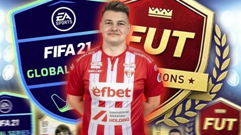 """Jucătorul de FIFA 21 al """"Bătrânei Doamne"""" e angrenat în primul event major al sezonului: """"Pregătit să reprezint România și UTA"""""""