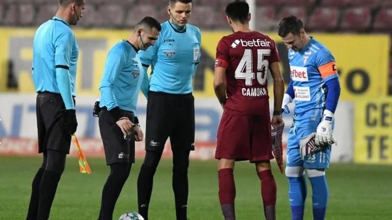 """Iacob, ales omul meciului chiar de Dan Petrescu: """"Am plecat de la Arad cu ideea de a nu lua gol, UTA are niște titluri în spate și ne dorim să rămânem sus!"""""""