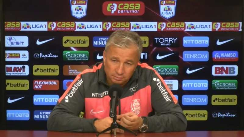 Șoc în Liga 1: Dan Petrescu a fost dat afară de la CFR Cluj, inclusiv eșecul cu UTA a influențat decizia conducerii clubului!