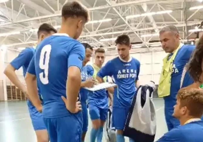 """Șimandul se mulțumește cu creșterea în joc după cel de-al doilea turneu ligii secunde de futsal: """"Puteam mai mult cu Deva și Ișalnița, învățăm din mers"""""""