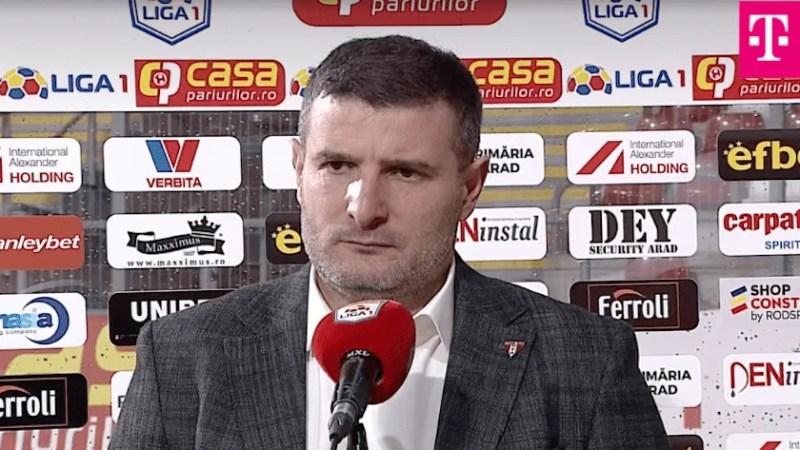 """Balint, tot mai ancorat în realitate: """"Nu am de ce să fiu supărat pe băieţi, azi ne-a bătut un jucător care a costat un milion de euro"""""""