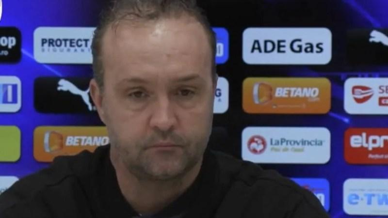 """Craiova vrea puncte la Arad, înainte de """"ciocnirile"""" cu FCSB și CFR: """"Ne temem de orice echipă și trebuie să avem respect dacă vrem să câștigăm"""""""