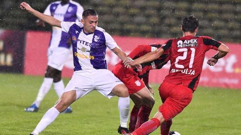 Liga 1, etapa a 16-a: Argeșul dă lovitura la Botoșani și strânge clasamentul la subsol, CFR-ul o egalează pe FCSB în frunte!