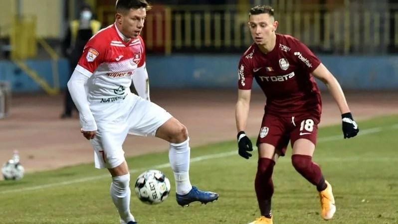 Liga 1, etapa a 18-a: Campioana CFR a întors-o pe Hermannstadt și ține trena FCSB-ului