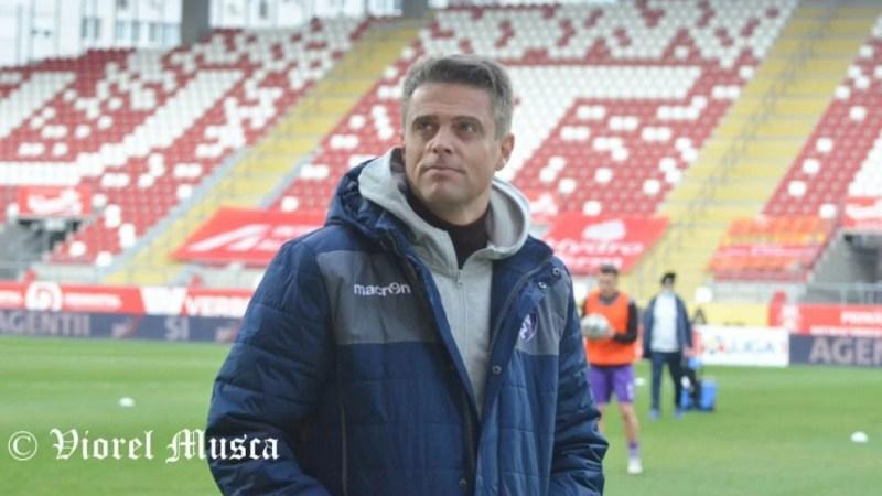"""Ianovschi recunoaște: """"Am câștigat și cu șansă, dar șansa face parte din joc. Le-am arătat de pe bancă jucătorilor că mai e timp după golul UTA-ei…"""""""