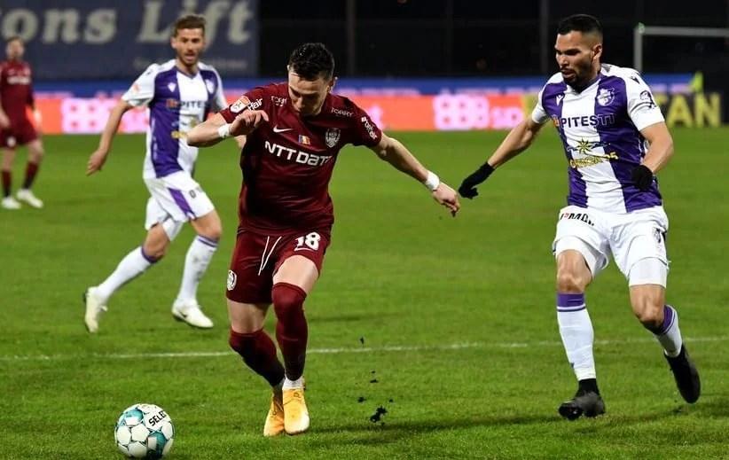 Liga I, etapa a 25-a: CFR-ul face scor cu Argeșul înainte de vizita la Arad, Iașiul pare a fi prima condamnată la Liga 2-a!