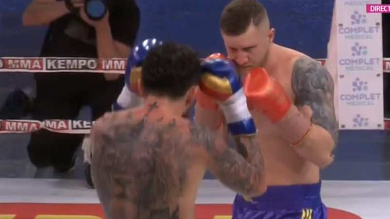 Sătmăreanul Cardoș i-a produs primul eșec lui Edi Gafencu la profesioniști, infrângere și pentru elevul lui Ruben Stoia